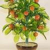 Деревья счастья и цветы из природных минералов