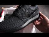 NIKE Flyknit ROSHE RUN NM (Black Grey) - DEADSTOCK - unboxing on feet review