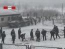 ТАУ - Сводный отряд спецназа на БТРах гасит бунт в зоне. Real video