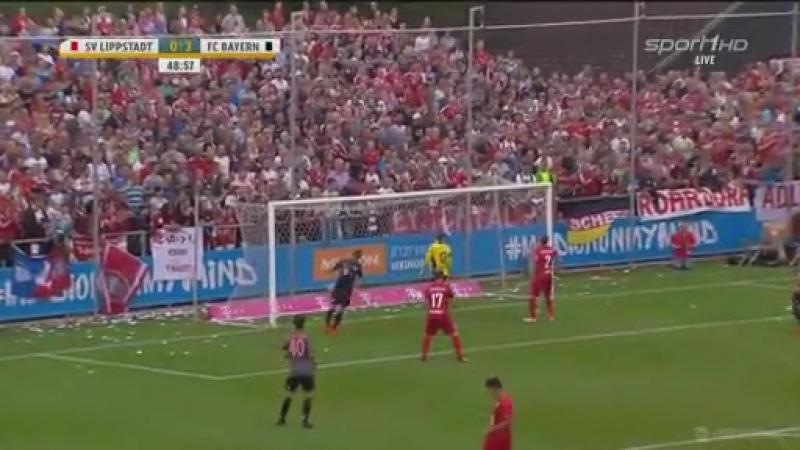 All Goals HD - Lippstadt 08 3-4 Bayern München - 16.07.2016