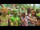 Новости от Спутник-ТВ, про фестиваль красок «Холи Фест»