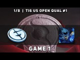 EG vs. Shazam - Game 1 @ TI6 USA Open Qualifiers, Dota 2