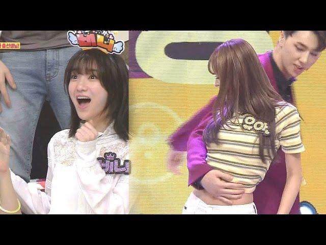 'EXO' 춤선생님, 오마이걸 유아와 질펀한 스킨십에 원성 폭발! @스타킹 454회 20160614
