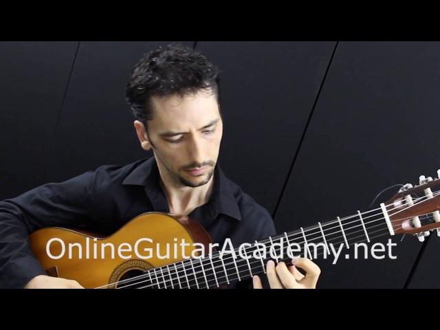 The Four Seasons, Summer, 3rd mvt, A.Vivaldi (solo classical guitar arrangement by Emre Sabuncuoglu)