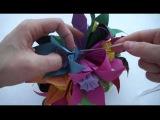 Кусудама оригами Украшение из бумаги
