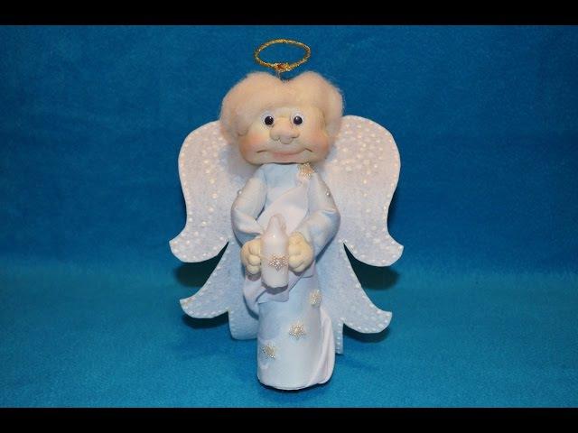 Рождественский ангел своими руками ❀ Christmas Angel DIY