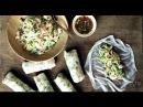 Свежие роллы с креветками по-вьетнамски
