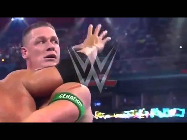 WWE Wrestlemania 28 John Cena vs The Rock Full Match