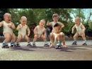 Веселая песенка для малышей Чунга Чанга Малыши зажигают на роликах