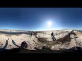 Видео 360: место крушения Boeing 737-800 в аэропорту Ростова-на-Дону