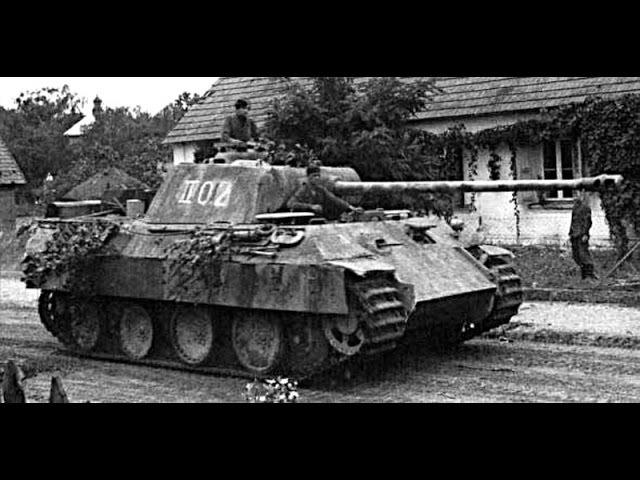 Пантера PzKpfw V Panther История создания немецких танков