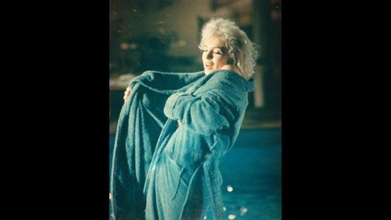 Marilyn Monroe The Bathrobe Rehearsal Of SGTG 1962 By lawrence schiller William Woodfield