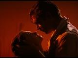 Признание Ретта в любви Скарлетт и поцелуй на прощание