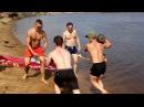 Банда crossfit11 десантировалась на диком пляже речки  Сысолы 06\08\2016