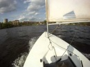 Ходка на яхте класса Луч (Лазер)