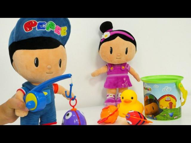 Pepee ve Şila Şila'dan BALIK kaçtı Balık tutma oyuncağı ile okul öncesi eğitici oyun Evcilik oyun