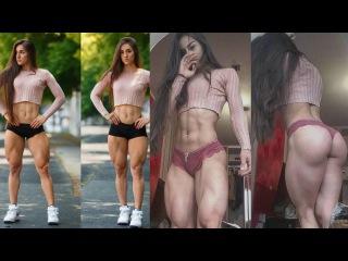 Bakhar Nabieva - Ukrainian fitness model / Amazing Glutes & Quads