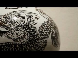 [달항아리.一念] The Master of Pottery 중요무형문화재 105호 백산 김정옥.wmv