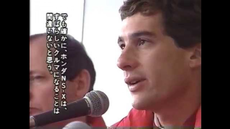 * BEST MOTORING 1989-05 ① A・セナの全開アタック!HONDA NS-X&F1鈴鹿を激走!ベストモータリン