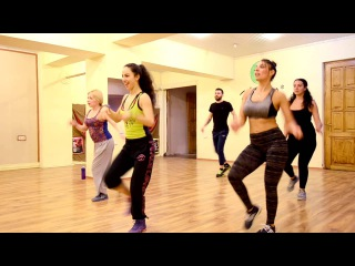 Daddy Yankee _Sigueme y te sigo_ZUMBA® with Keti Zazanashvili_ზუმბა ფიტნესი ქეთი ზაზანაშვილთ&
