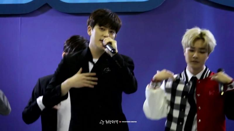 [FANCAM: 08.01.2016] Boyfriend - I'll be there (DH ver.) @ Infinity Challenge Expo 무한도전 엑스포 내가갈께 동현
