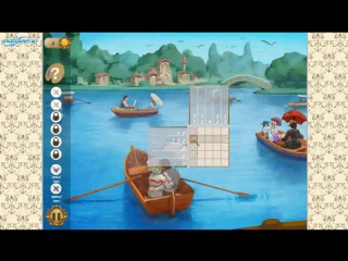Японские Кроссворды: Викторианский Пикник (Gameplay)