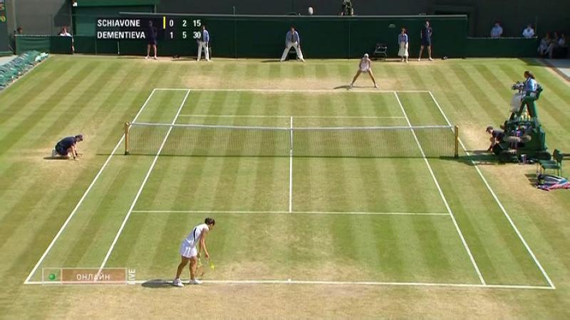 Wimbledon 2009 QF | Elena Dementieva - Francesca Schiavone