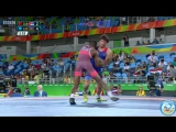 РИО-2016 греко-римская борьба 66 кг квалификация Мигель Мартинес (Куба) - Расул Чунаев (Азербайджан)