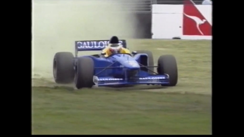 F1 1997. Гран-при Австралии. Гонка