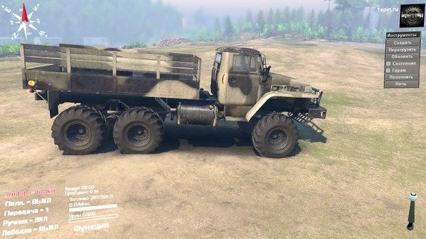 Урал-375 для Spintires - Скриншот 1