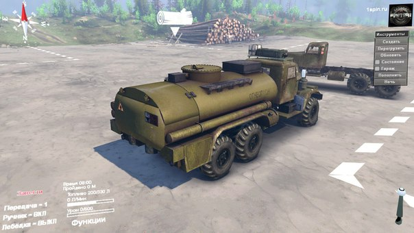 КрАЗ-255 для Spintires - Скриншот 2