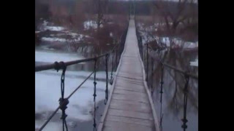 2016 Самойловка,речка Терса.Скоро разлив.