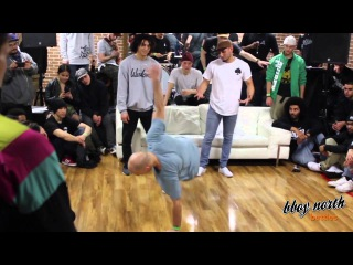 Prevail, Fil Fury, Illz - RUMBLE IN THE DOT JUDGES SHOWCASE   BBOY NORTH