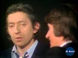 Serge Gainsbourg Jacques Dutronc Janes Birking Les Roses Fan