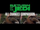 All Changes Made to Star Wars Return of the Jedi Comparison Video