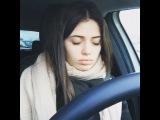 """Карина Каспарянц on Instagram: """"Когда хочется спать, а ты едешь в универ (Когда глаза были закрыты , я стояла на светофоре)"""""""