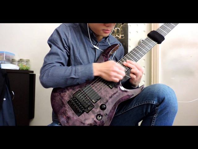 Rings Of Saturn--Annihilating The Pure guitar cover (Agile Interceptor Pro 727 EMG 707)