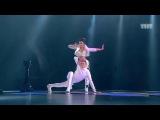 Танцы Таня Рыжова и Саша Борисюк (Gossip - Pop Goes The World) (сезон 2, серия 12)