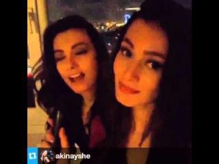 "Tuvana Turkay on Instagram ""#Repost @akinayshe ··· Bu ozel gunumu canim Tuvanamin mutesem sarkisiyl"