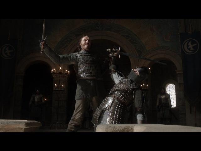 Дуэль Бронна и Сира Вардиса (Ser Vardis vs Bronn)