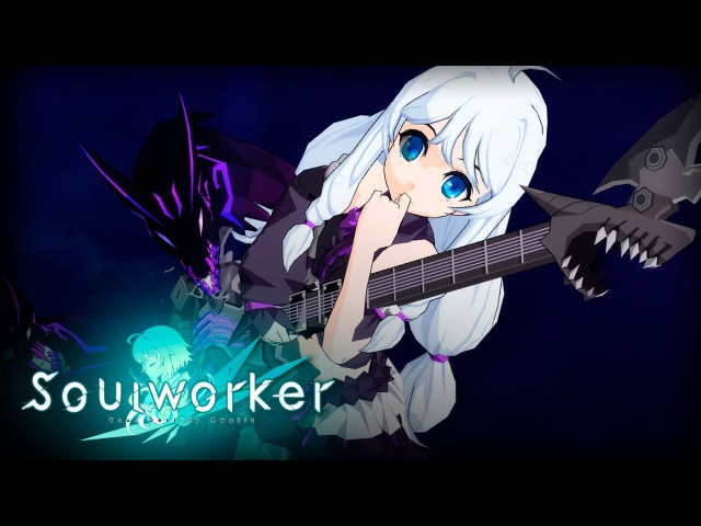 Soulworker - Howling Guitar Gameplay - Stress Test CBT - F2P - JP