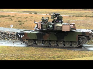 M1A2 AbramsUS main battle tank in Action