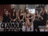 Little Mix talk Beauty, Makeup tips and their Beauty Icon Zendaya | #AskAlex | Glamour UK