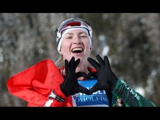 Золото Дарьи Домрачевой 2011-12-01 Кубок мира Индивидуальная гонка Эстерсунд