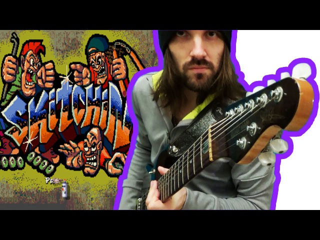 ♻ Skitchin' OST Guitar medley (rock/metal cover). Sega Mega Drive 2 (GEN) soundrack music.