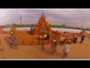 Чемпионат песчаной скульптуры Волшебный мир песка  в музее-заповеднике Коломенское