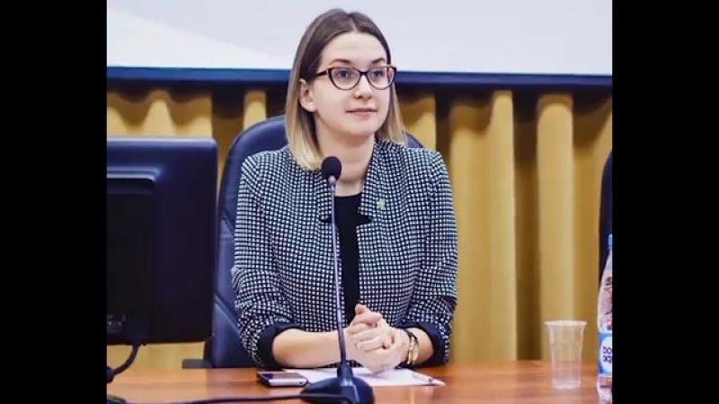 Екатерина Соколова, победитель областного конкурса «Лидер XXI века»