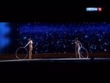 Валерия и Анна Шульгина - Ты моя (Фестиваль детской художественной гимнастики Алина) (1)