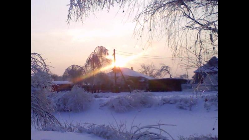 Зима в южном бутово 1