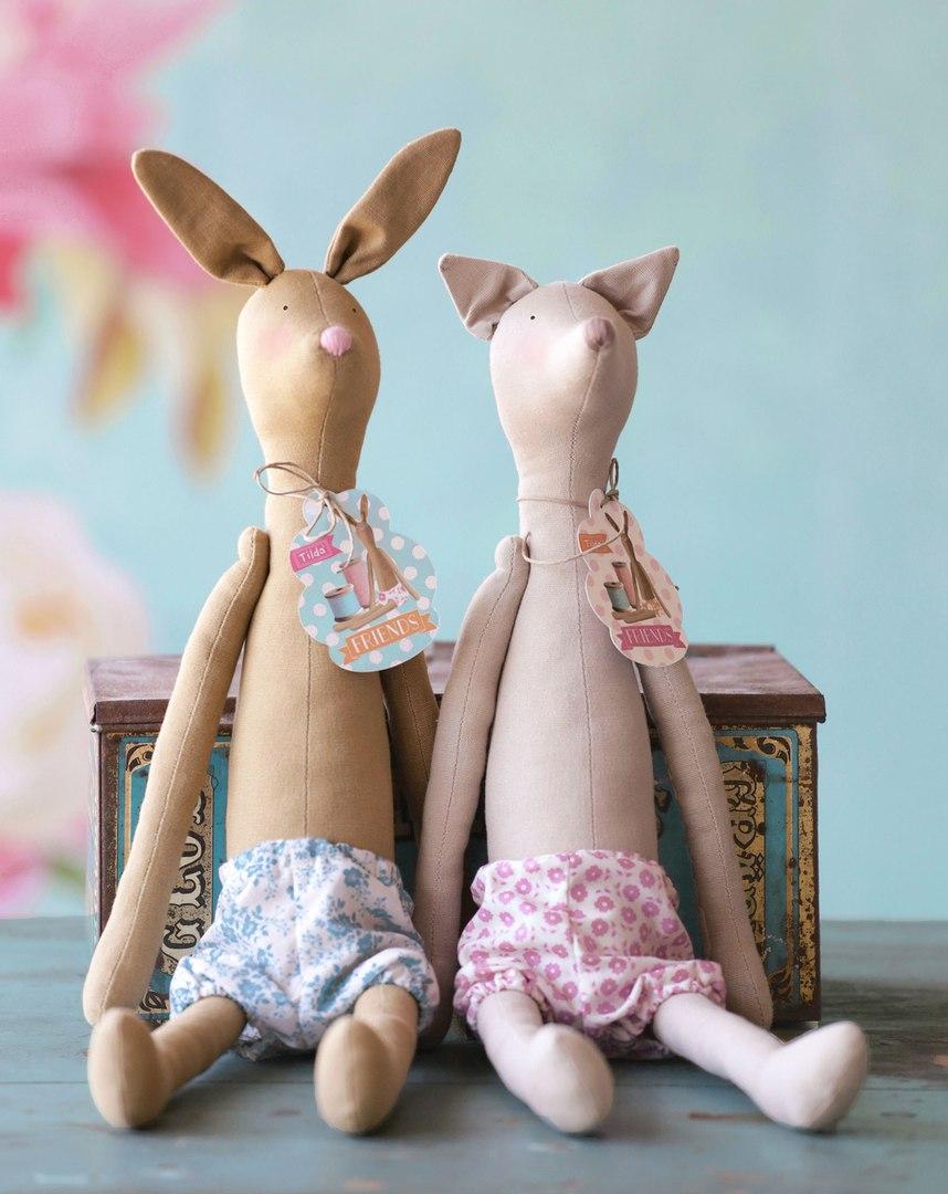 кролик и лис тильда